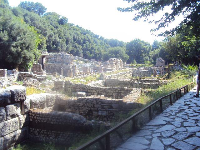 resti di Butrint antica