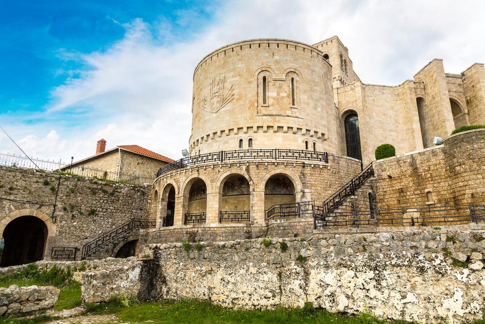 museo dentro il castello di Kruja