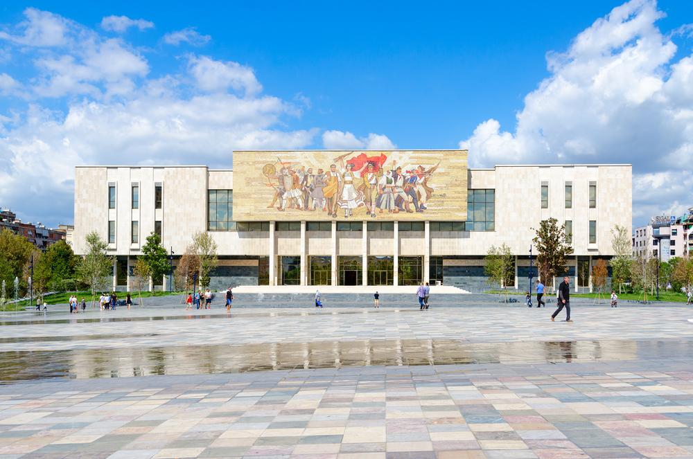 museo in centro a Tirana