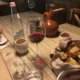antipasto tipico vino e formaggi